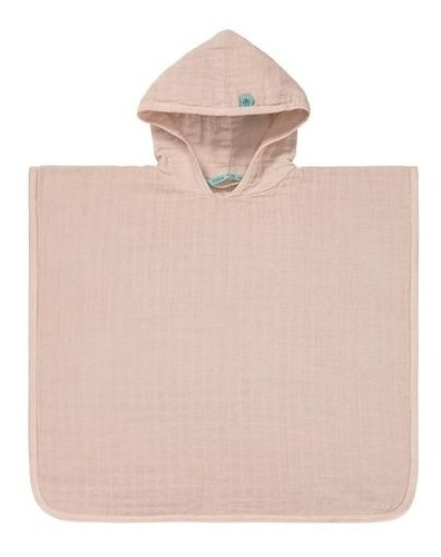 lassig - muslin poncho light pink