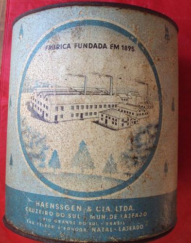 lata antiga balas natal - haenssgen & cia - lajeado rs - a45