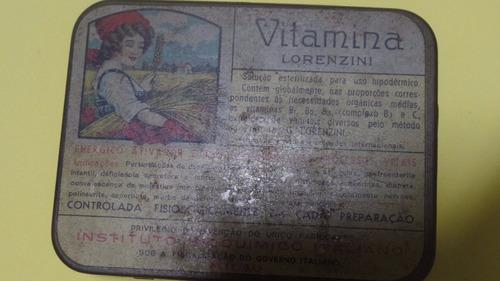 lata antiga remédio vitamina lorenzini