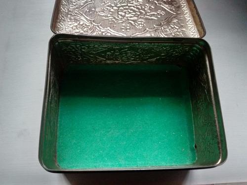 lata antigua de té douwe egberts pickwick tea  holandesa