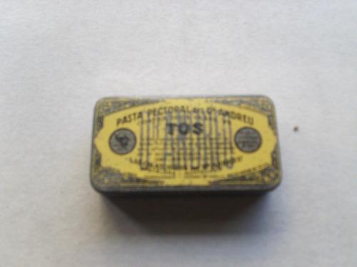 lata antigua pasta pectoral del dr adreucontra la tos