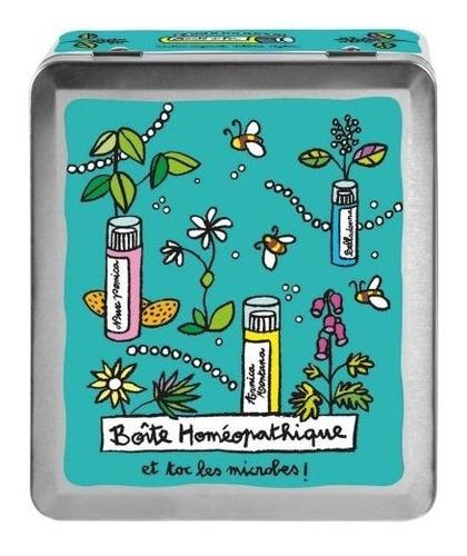 lata caja metal homeopatía derierre la porte campoamor deco