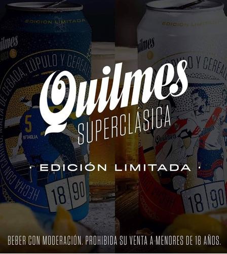 lata cerveza quilmes - river - 1890 - edicion limitada