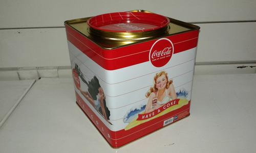 lata coca-cola coleccionable