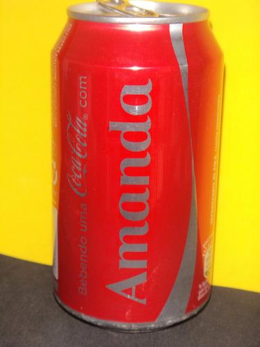 lata coca-cola nomes 2015 rexam - amanda - n220