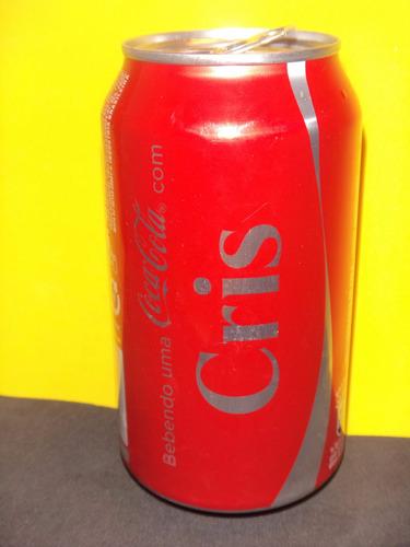 lata coca-cola nomes 2015 rexam cris cristina cristiane n050
