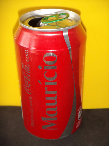 lata coca-cola nomes maurício - 2015 rexam n103