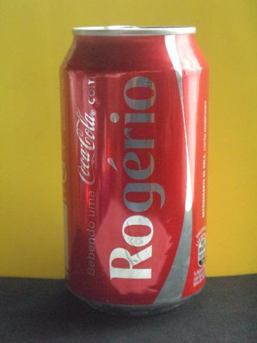 lata coca-cola nomes rogério - 2015 rexam n330