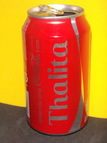 lata coca-cola nomes thalita 2015 rexam - n246