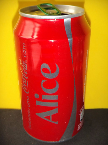 lata coca-cola zero nomes alice 2015 rexam n125