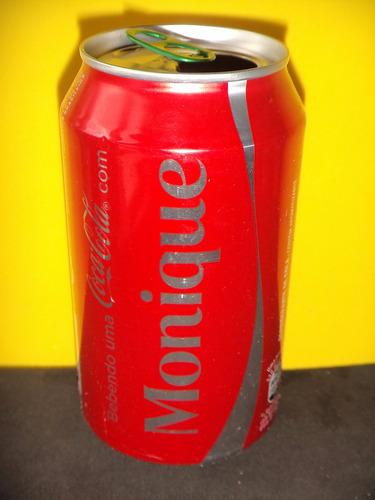 lata coca-cola zero nomes monique 2015 rexam n147