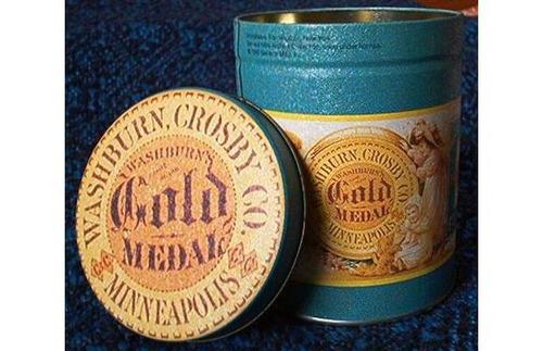 lata coleccionable gold medal u.s.a. vintage