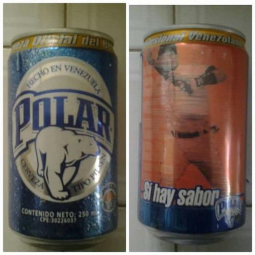 lata coleccionable vacía de temporada de béisbol