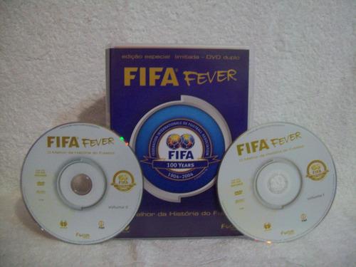 lata com 02 dvds + bandana + apito fifa fever- ed. limitada