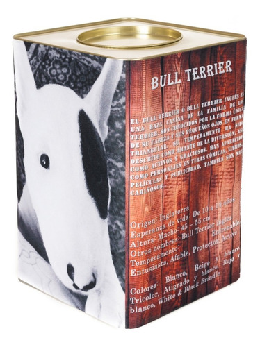 lata contenedora alimento balanceado perros linea razas