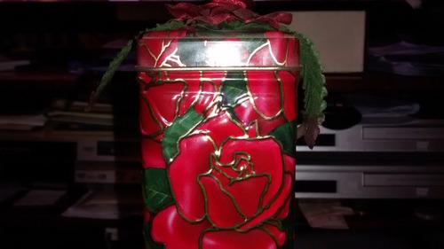lata cranberry butter biscuits vazia coleção r$ 29,00