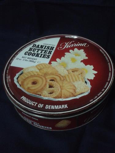 lata danish butter cookies - dinamarca