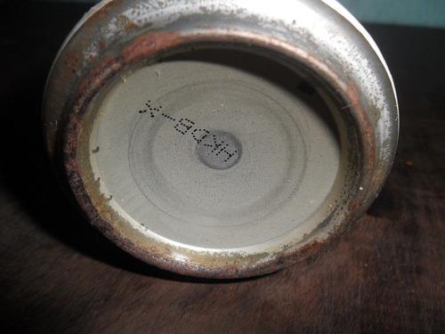 lata de cerveja 3 horses antiga cheia