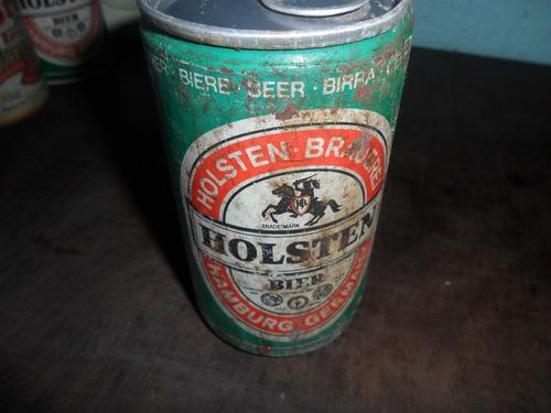 lata de cerveja holsten antiga cheia