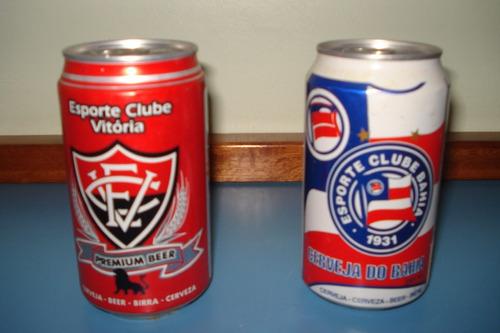lata de cerveja vitória - clubes - copas - escolas de samba