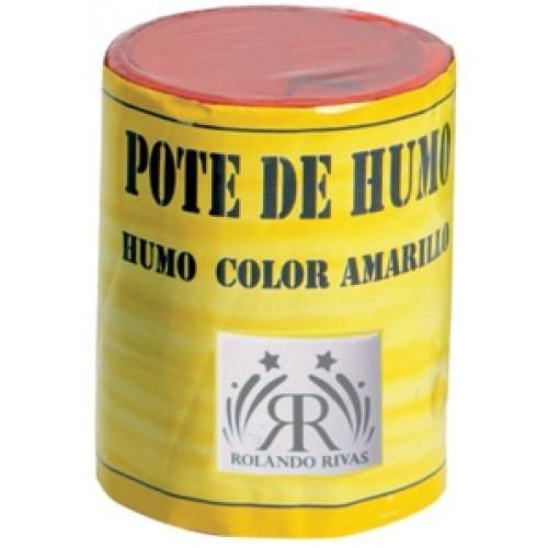 lata de humo mediano pote de humo 7 colores a eleccion