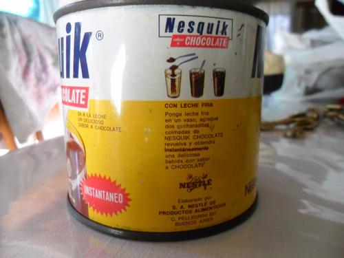 lata de nesquik de 250 grs 1975