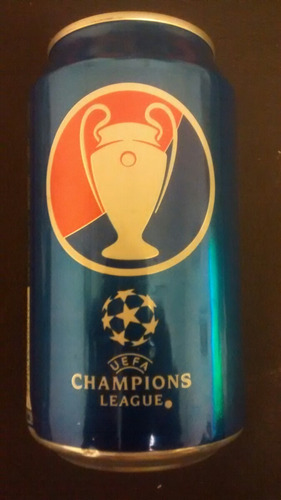 lata de pepsi 354ml champions league.