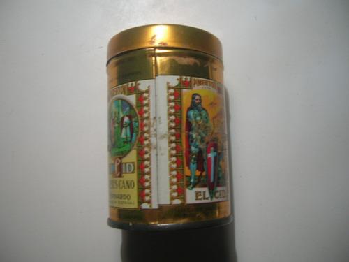 lata de pimentón español el cid  mirala!!!