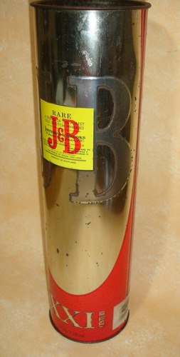 lata de whisky j&b xxi century 750ml