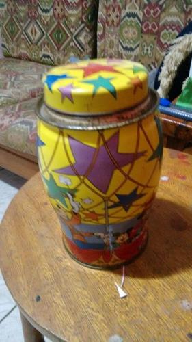lata decorada walt disney vinda da inglaterra muito
