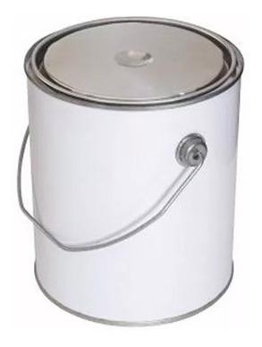 lata envase hojalata 4lts color plata
