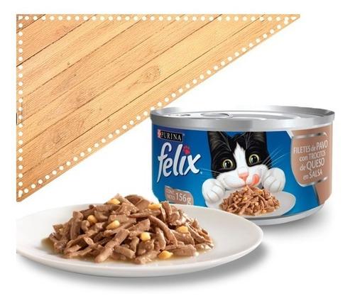 lata felix 9 cajas con 24 piezas c/u 156g sabores a elegir
