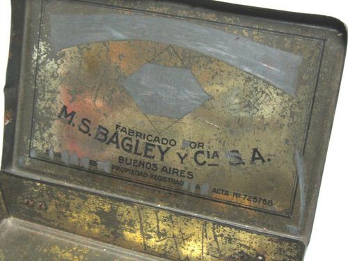 lata galletitas bagley