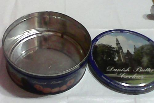 lata importada danish butter cookies denmark x454 gramos