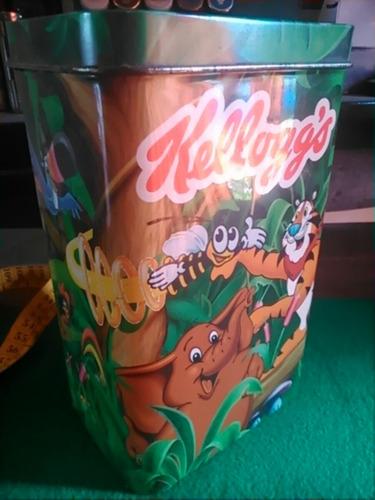 lata kellogg's tigre tony y sus amigos de la selva