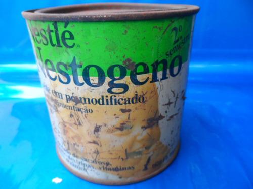 lata leite em pó nestré nestogeno 2semst antiga anos 70 #140