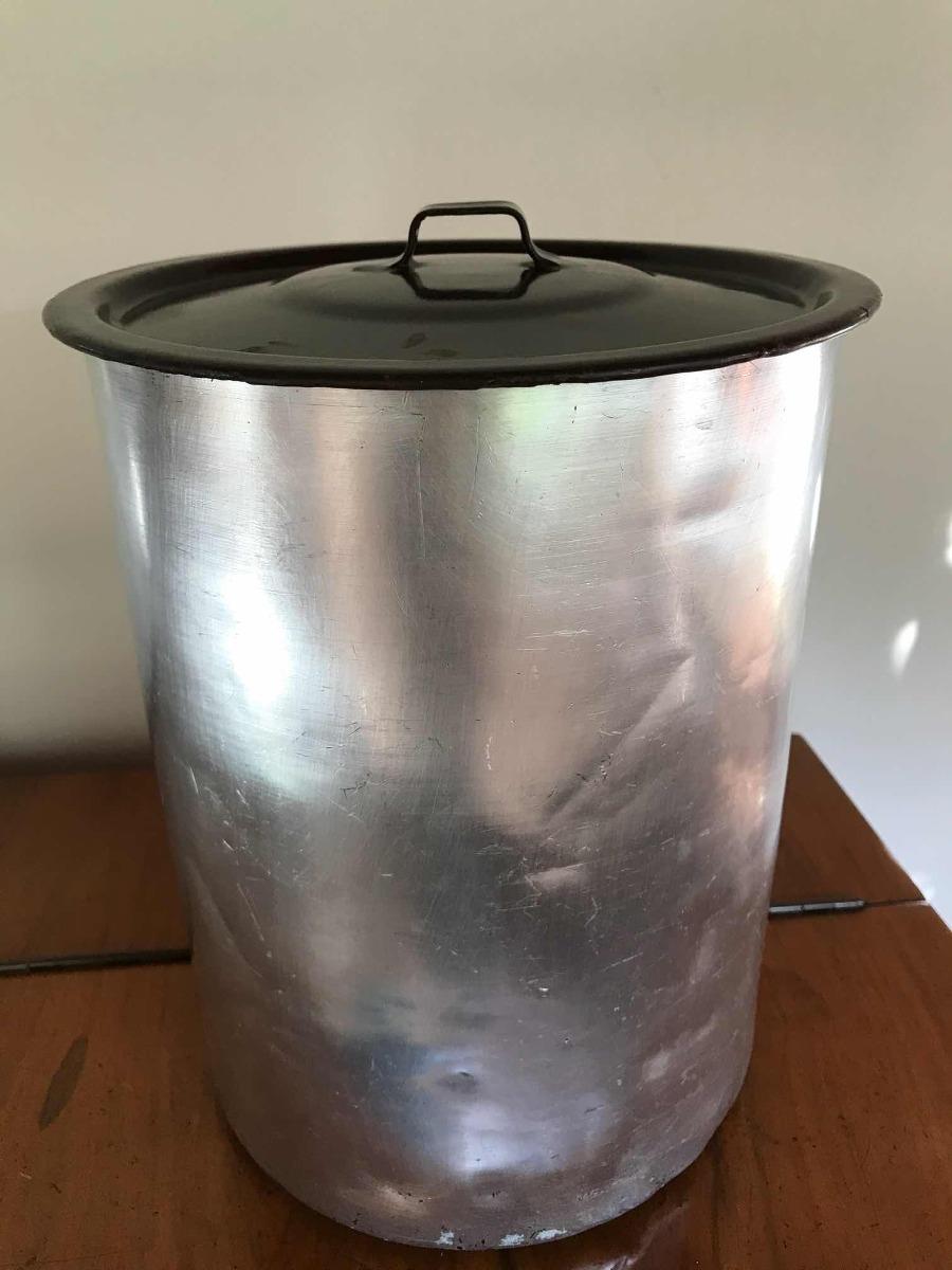 Lata Mantimentos Alumínio Ctampa Mto Antiga R 6500 Em Mercado