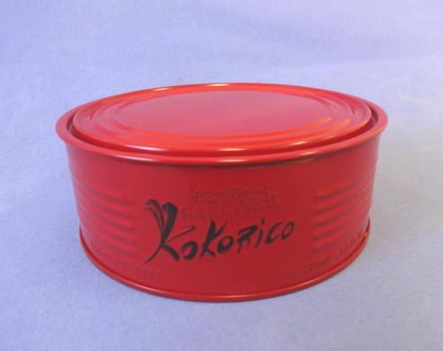 lata perfume kokorico jean paul gaultier - lata vazia