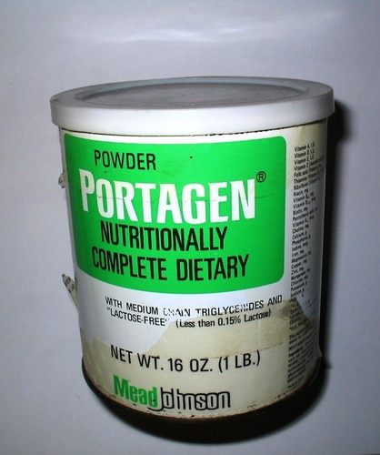 lata portagen - mead johnson nutritional división - año 1982