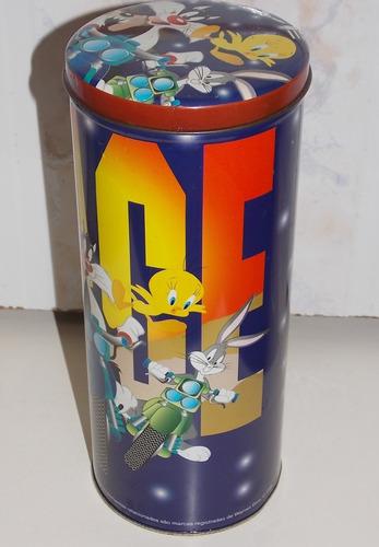 lata race looney tunes - personagens na moto -1998