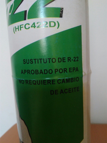 lata refrigerante para aire acondicionado r22