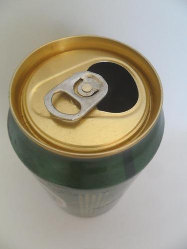 lata vazia latinha cerveja carlsberg beer dinamarca 1999