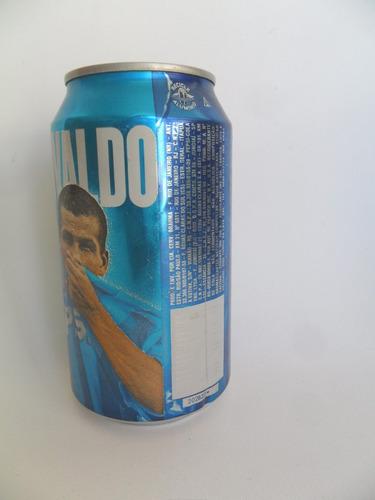 lata vazia latinha refrigerante pepsi rivaldo ano 2000