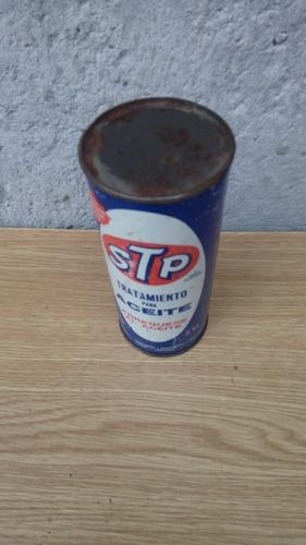 lata vintage cerrada stp tratamiento de aceite