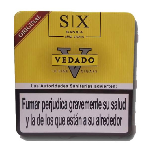 lata x30 cigarros cigarritos vedado mini original puritos