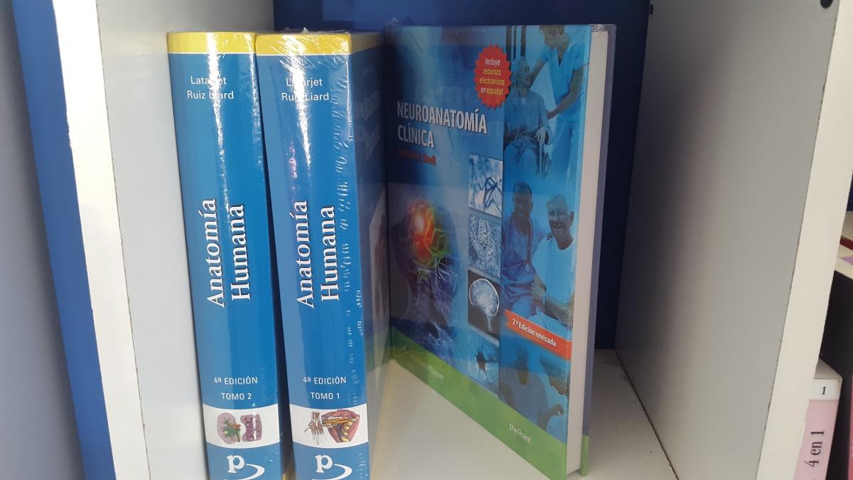 Latarjet Anatomia Humana 2ts + Snell Neuroanatomia Clinca 7ª ...