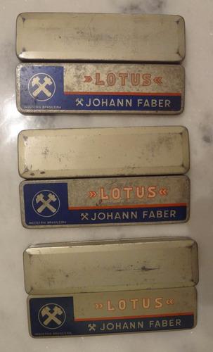 latas antigas johann faber