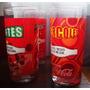 Vasos De Vidrio Pintados A Fuego Cocacola