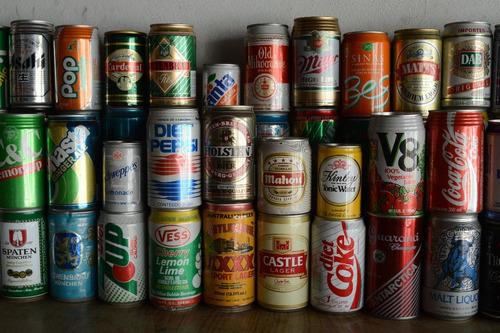 latas cervezas, colección