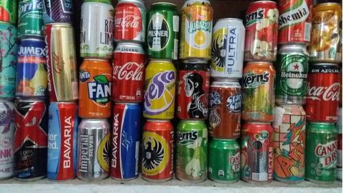 latas colección